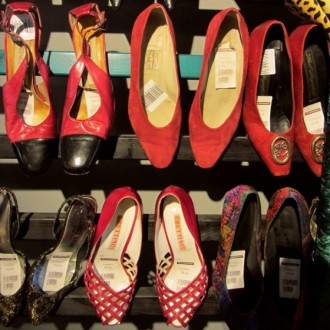 Schuhe bei Myrorna