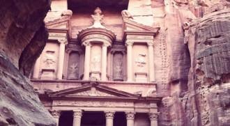 Khazne al Faraun in Petra