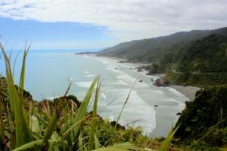 Steilküste im Westen der Südinsel