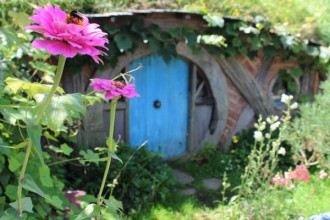 Hobbit hole in the Shire
