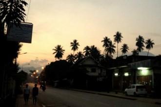 Ankunft in Luang Prabang am frühen Morgen