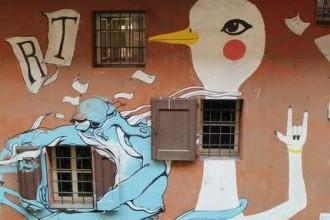 Streetart Mural Bologna