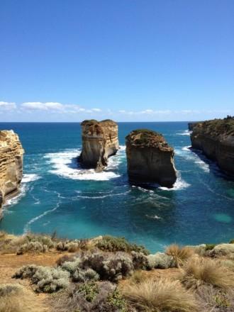 Felsen im Meer Great Ocean Road