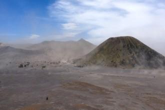 Blick auf Mount Bromo von Cemoro Lawang
