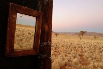 Bad im Busch Namibwüste Namibia