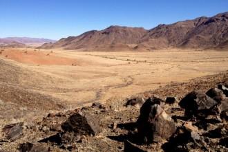Wandern in der Namib Wüste