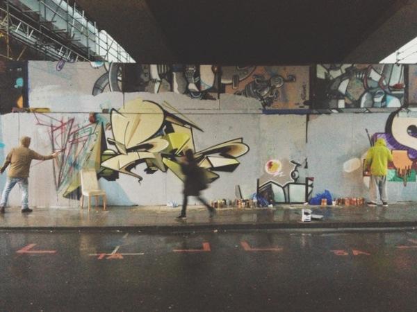 Streetart Graffiti Brick Lane