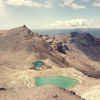 Emerald Lakes Tongariro Crossing