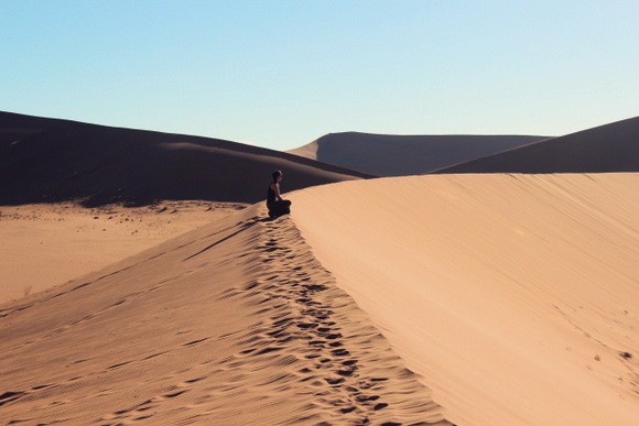 Black Dots Sossusvlei Namibia