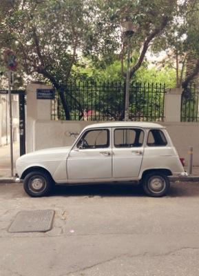 Vintage car Soloparking Athen