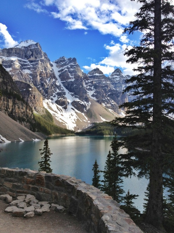 Moraine Lake Rockies Banff Lake Louise Kanada