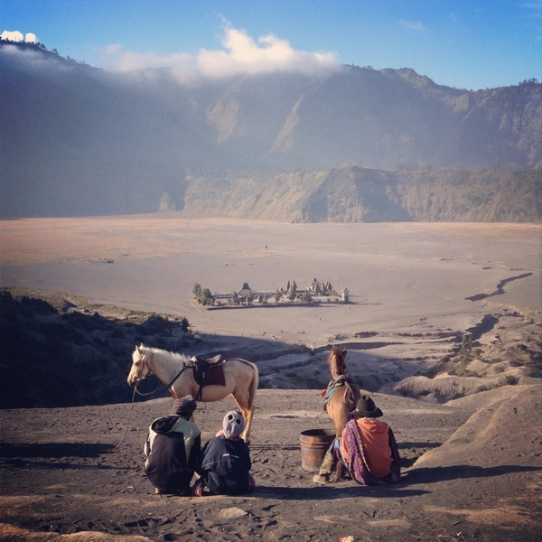 Mount Bromo Java Sea of Sand
