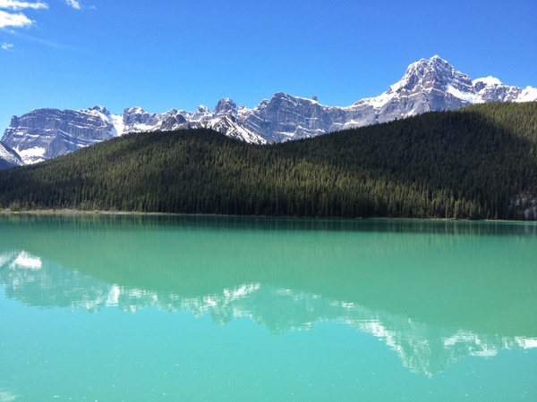 Rocky Mountains Reflections Canada