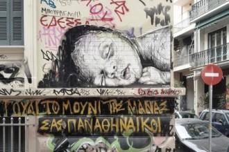 Streetart Exarchia Athen