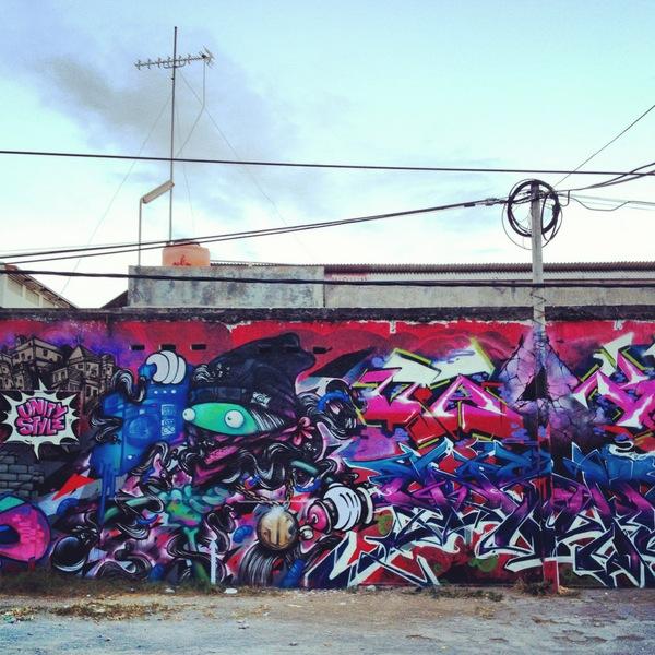 Streetart Yogyakarta Graffiti Indonesien