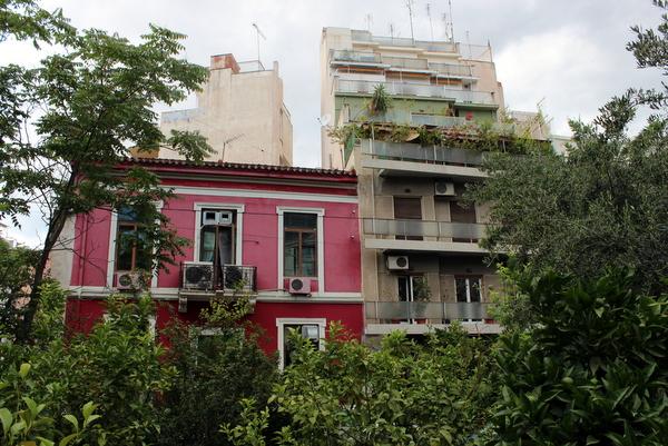Urban Gardening Athen Exarchia