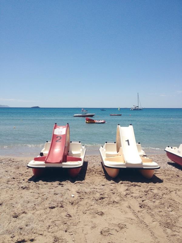 Yabanaki Beach Athen Griechenland