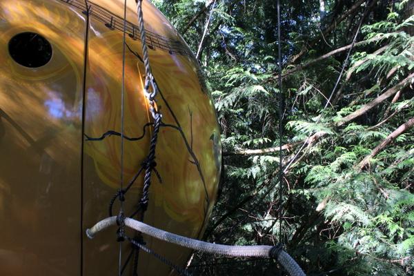 Befestigung Free Spirit Spheres Melody Baumhaus