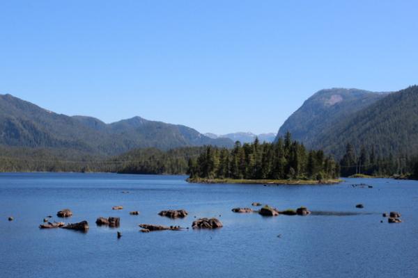 Landschaft Prince Rupert Pacific Northwest