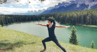 Outdoor Yoga Banff
