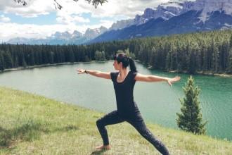 Outdoor Yoga Banff
