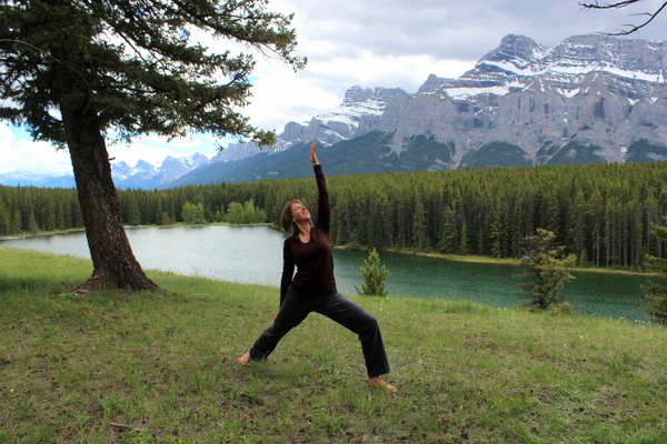 Ronna Eco Yoga Adventures Banff Canadian Rockies