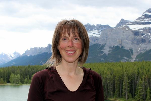 Ronna Schneberger Eco Yoga Adventures Banff