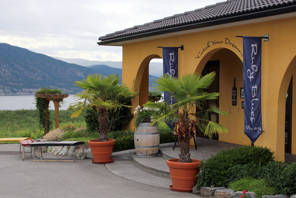 Ruby Blues Winery Penticton Naramata Okanagan Lake BC