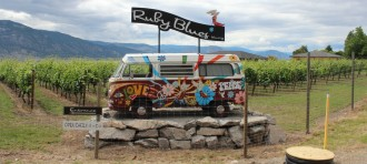 Ruby Blues Winery VW Camper
