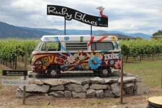 Ruby Blues Winery VW Camper