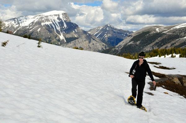 Schneeschuhwandern Banff Canadian Rockies