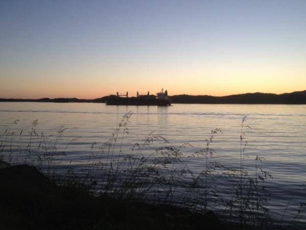 Sonnenuntergang Prince Rupert BC Kanada