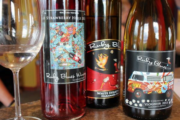 Wein Kanada BC Ruby Blues Okanagan Penticton