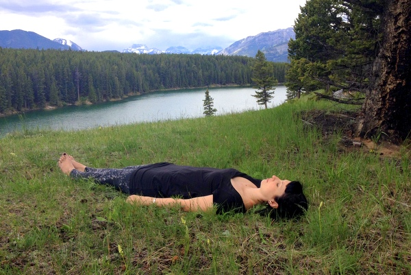 Yoga Meditation Banff National Park