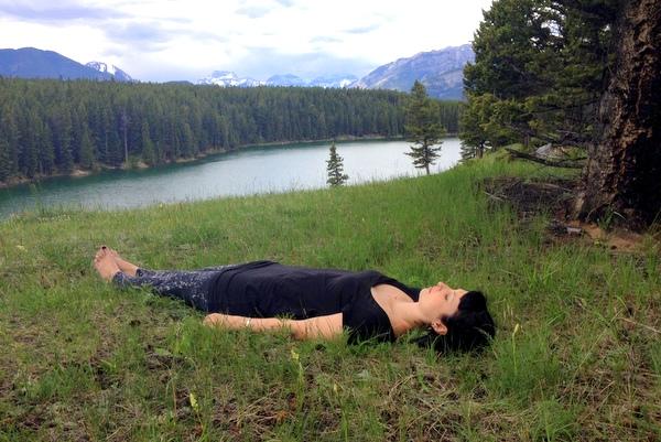 Yoga Meditation Banff National Park