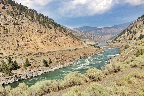 Fraser Canyon Thompson River Canyon BC