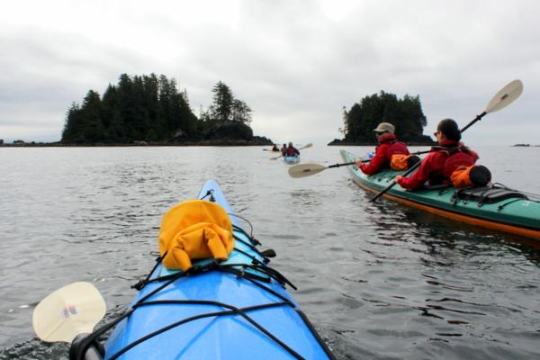 Kajak Ucluelet Vancouver Island