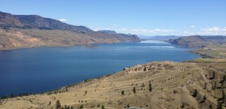 Kamloops Lake Roadtrip Kanada