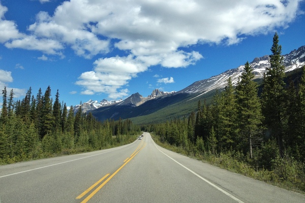 Mit dem Mietwagen durch die kanadischen Rockies