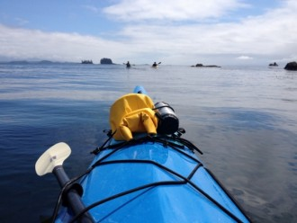 Sea Kayaking Ucluelet Vancouver Island Barkley Sound Pacific Rim National Park