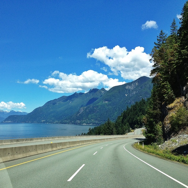 Sea to Sky Highway Vancouver Whistler