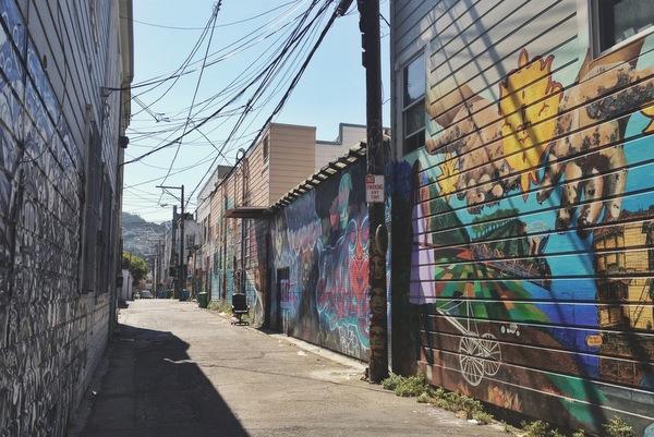 Back Alley Mission District San Francisco
