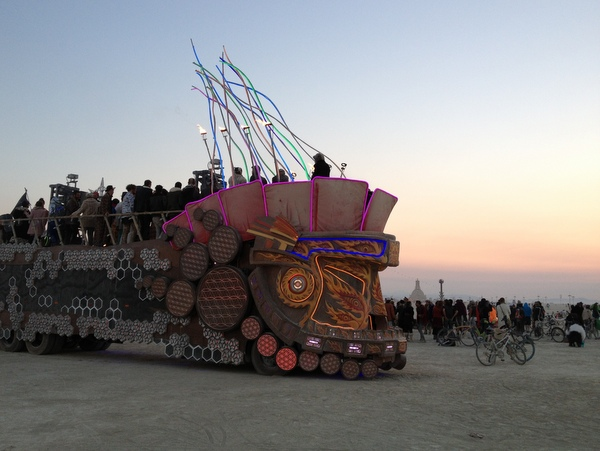 Burning Man 2014 Sunrise