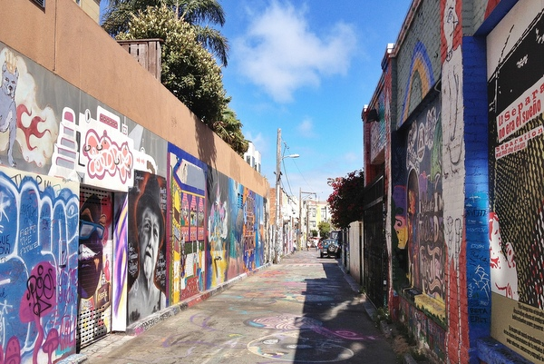 Clarion Alley Mission District San Francisco