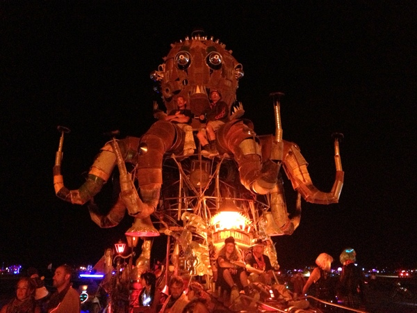 El Pulpo Mechanico Krake Burning Man