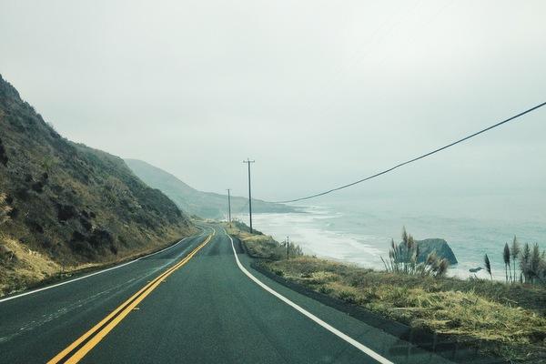 Highway 1 Nordkalifornien Mendocino