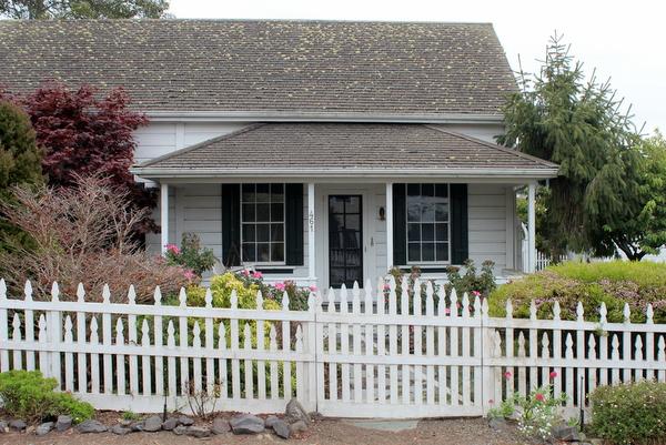 Mendocino Cottage Häuser