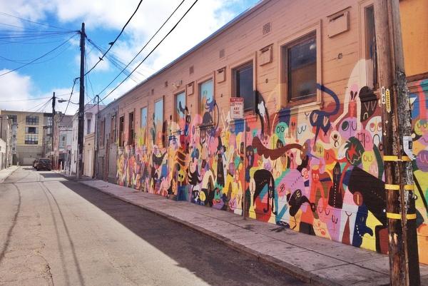 Mission District Streetart