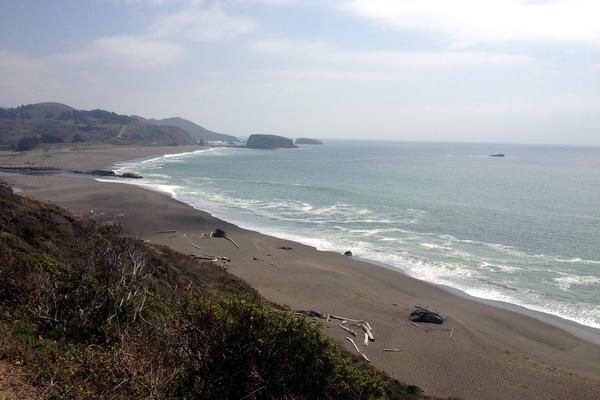 Strand Nordküste Kalifornien Highway 1