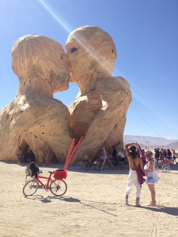 The Embrace Burning Man 2014